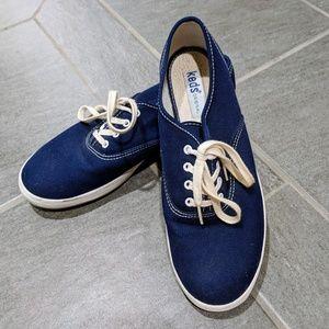 Keds - Navy blue, size 7.5